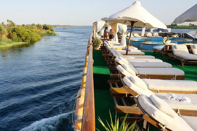 Nile Cruise Nile Quest from Aswan to Luxor for 4 days 3 nights with sightseen photo 1