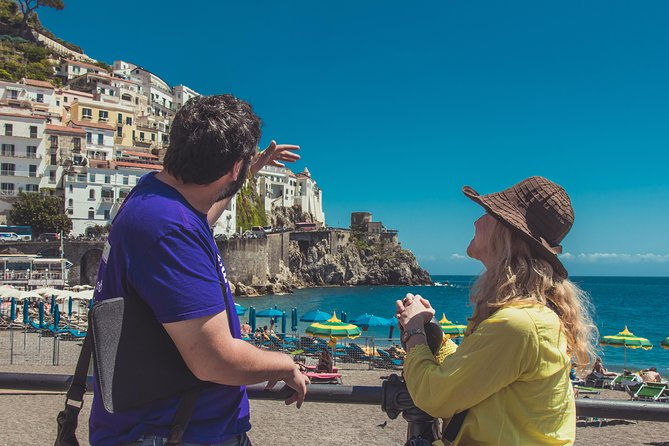 Semi private tour: Pompeii, Positano & Amalfi Coast day trip from Rome or Naples