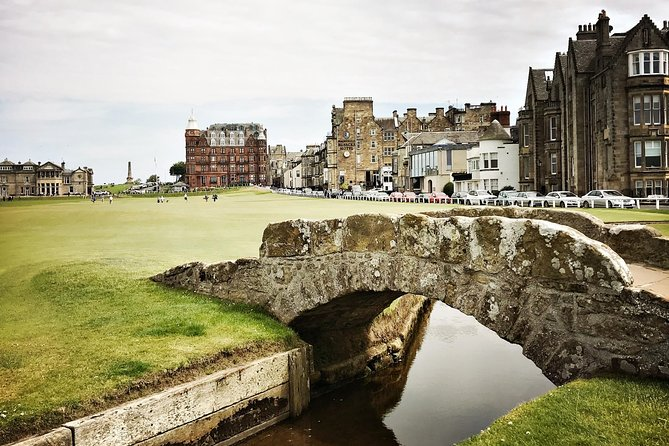 Private St Andrews and Kingdom of Fife Luxury Day Trip