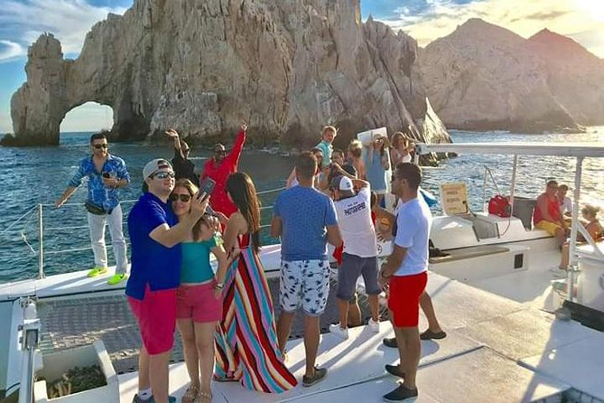 Sunset Catamaran by the Arch. Open Bar & Snacks Incuded