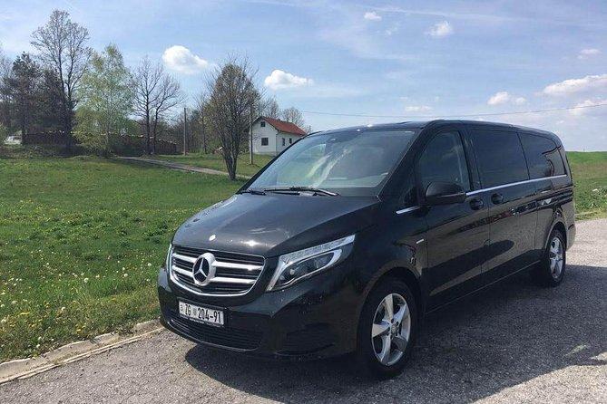 Private transfer from Split to Zagreb - door to door