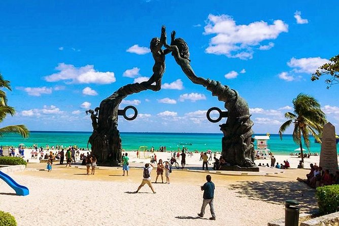 4 Places in 1 Day - Tulum, Coba, Cenote and Playa del Carmen - From Cancun