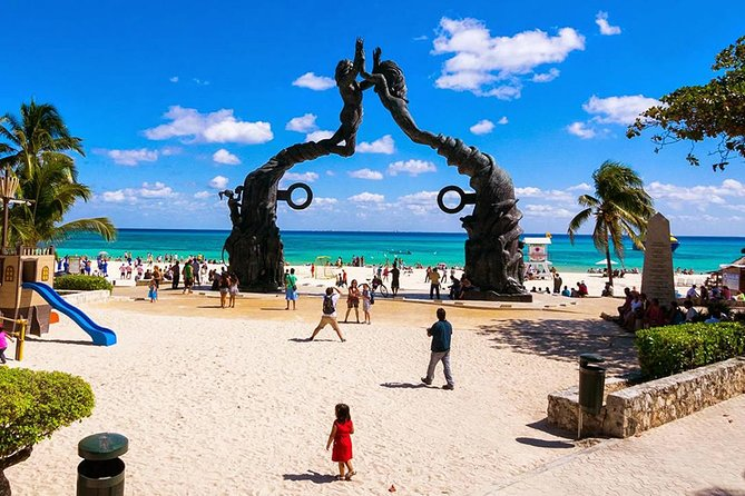 (4x1) Tour Plus Coba,Tulum,Playa del Carmen & Cenote - from Riviera Maya