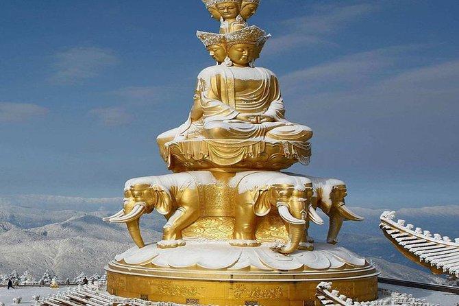 2 Days Chengdu Panda Base, Leshan Giant Buddha and Mt.Emei Group Tour