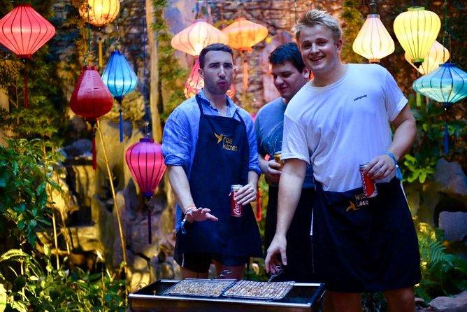 Matlagningskurs i lokal villa med marknadstur (säsongsbetonad lokal vinprovning)