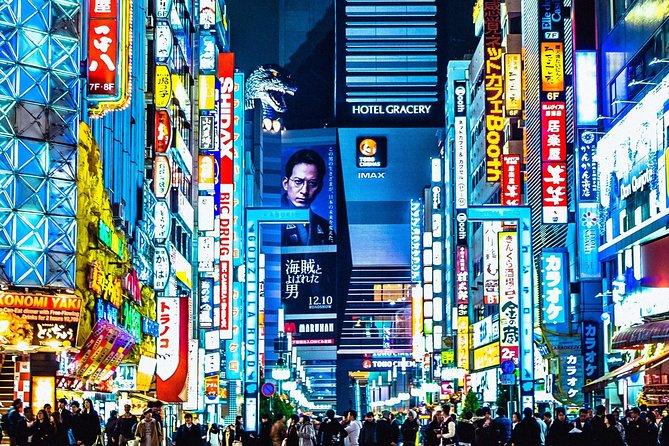 Shinjuku Evening Walking Tour With a Local Guide