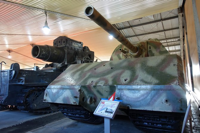 Kubinka Tank Museum Private Tour