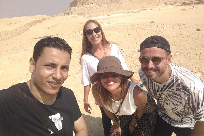 Day trip to Giza Pyramids Citadel & Bazaar