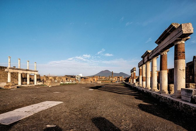 Half-Day Ancient Pompeii Tour from Amalfi Coast