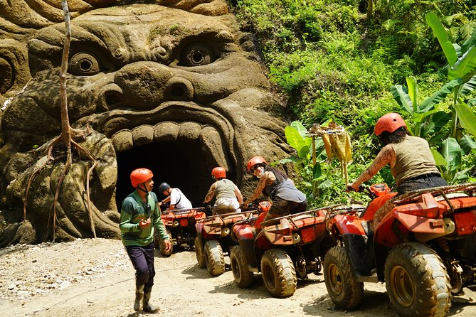 ATV Tour Through Fun Zone and Scenic Trek