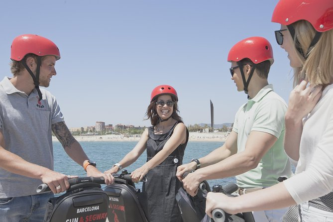 Tour guidato di Barcellona in Segway