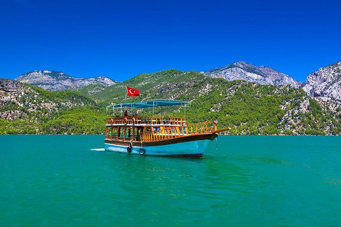 Mountain lake cruise in the Green Canyon with lunch departing from Belek hotels photo 8