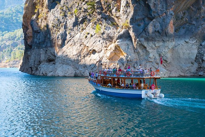 Mountain lake cruise in the Green Canyon with lunch departing from Belek hotels photo 6