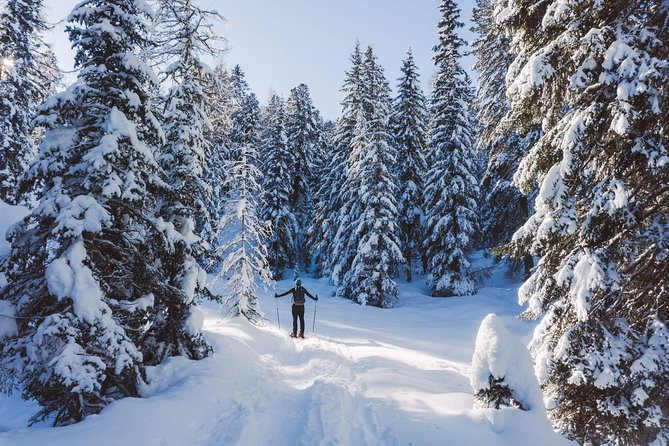 Snowshoeing in Cortina d'Ampezzo (privat experience)