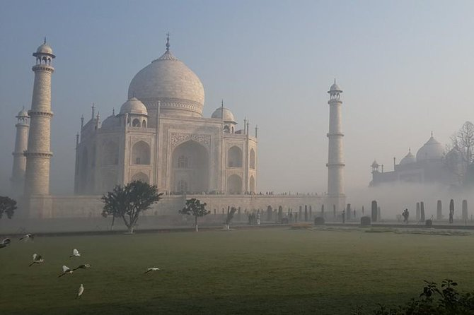 Taj Mahal at Sunrise and Agra Day-Tour from Delhi