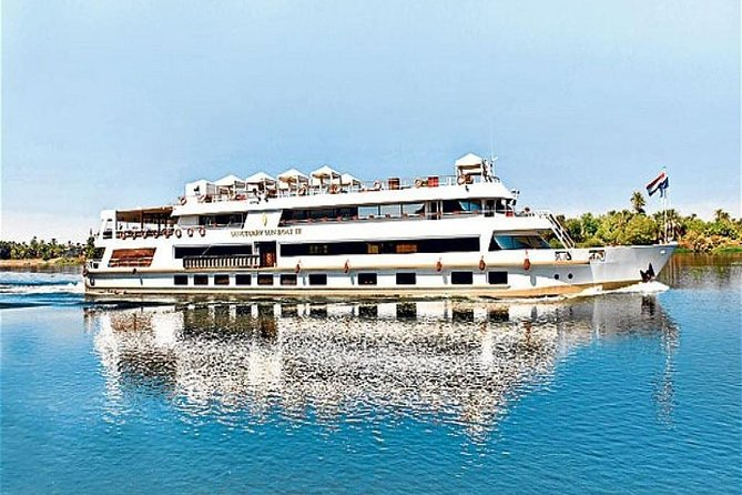 Book Nile Azur Cruise 5 days 4 nights from Luxor to Aswan included sightseen