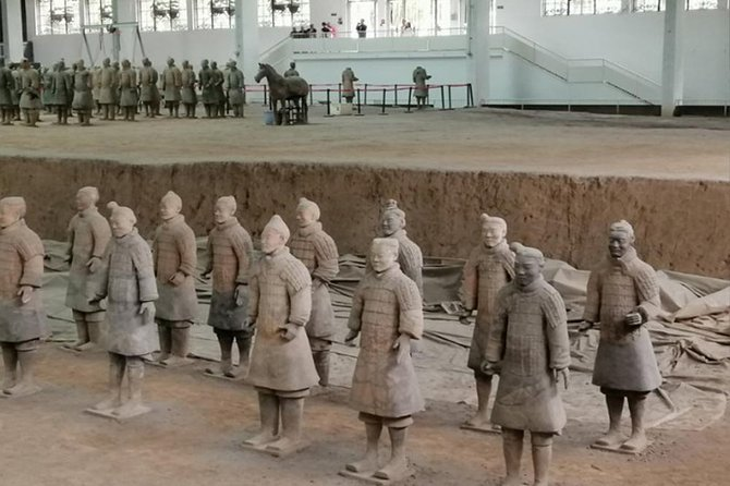 Xian Terracotta Warriors, Big Wild Goose Pagoda and City Wall Private Day Trip photo 3