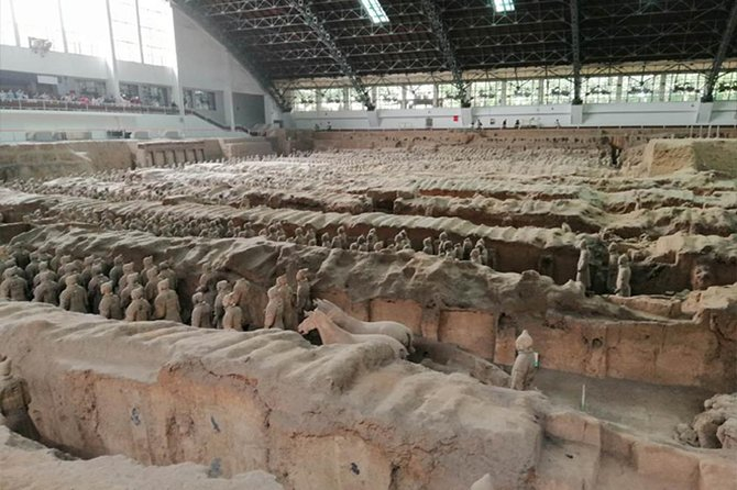 Xian Terracotta Warriors, Big Wild Goose Pagoda and City Wall Private Day Trip