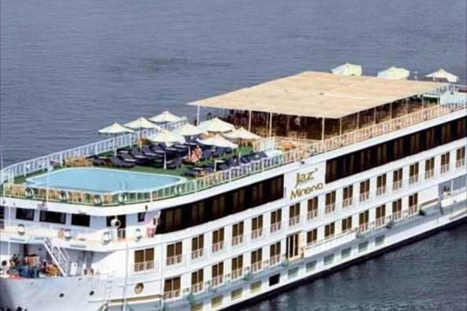 Nile Cruise Al Jamila from Aswan to Luxor for 4 days 3 nights with sightseen