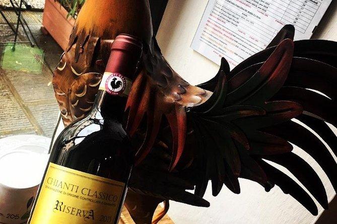 Wine tasting of Chianti Classico close to Gaiole in Chianti