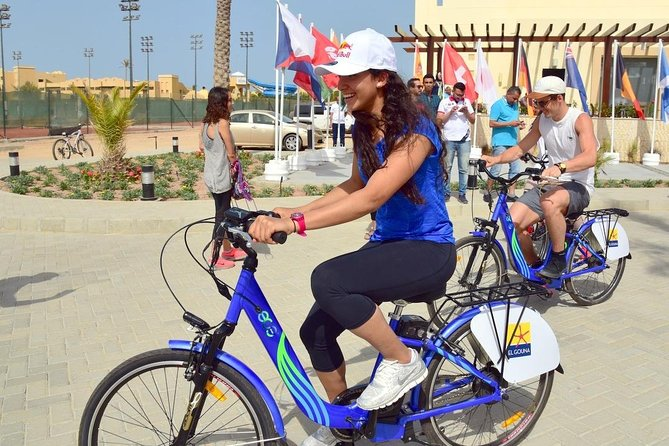 From Hurghada: El Gouna City Tour by Bicycle