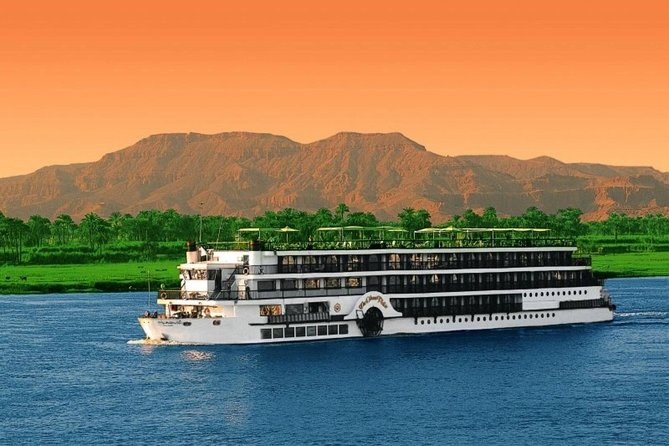 Nile Cruise Blue Shadow from Aswan to Luxor 4 Day 3 Nights with Sightseeing