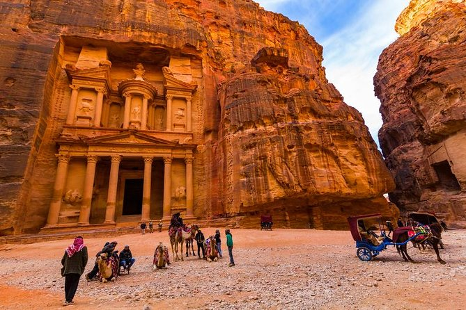 Petra day tour from Jerusalem (include lunch)