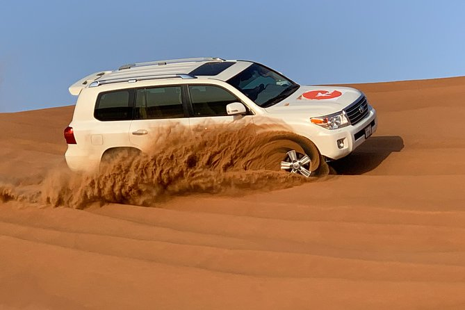 Premium Evening Red Dunes & Camel Safari with VIP BBQ Dinner