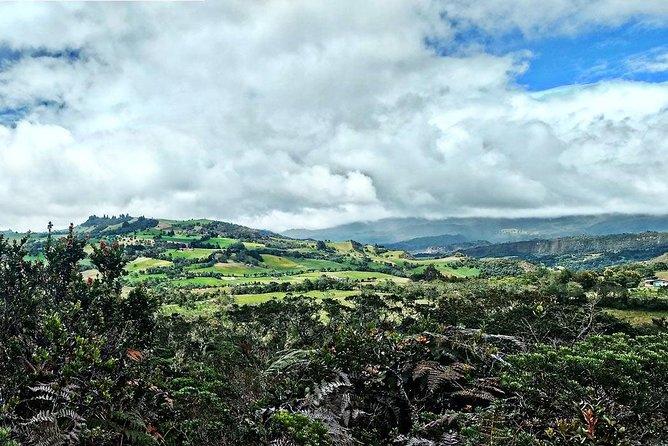 Tour Bogota Zipaquira Guatavita – Andean landscape