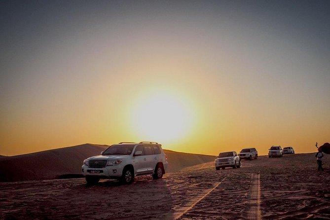 Dubai Sundowner Desert Safari with VIP Dinner Setup