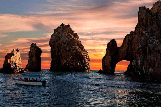 Sunset Tour & Land's End in a Glass Bottom Boat (VisitA Cabo)