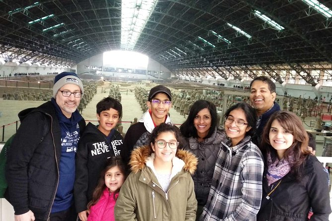 Xian Group Tour of Terracotta Army Museum and Big Wild Goose Pagoda