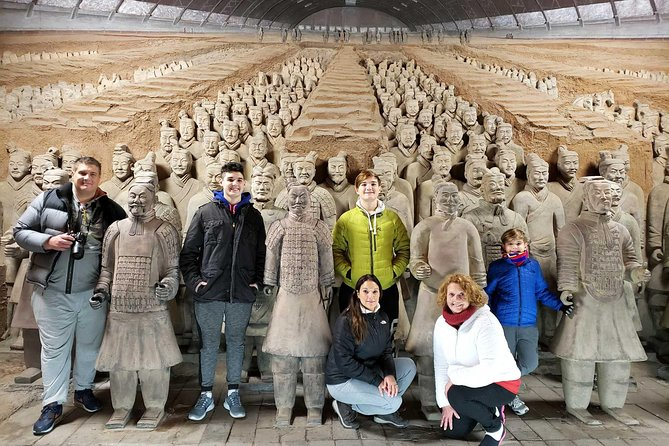 Xian Group Tour of Terracotta Army Museum and Han Yangling Mausoleum
