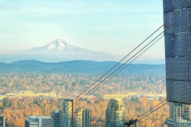 Sunrise, Doughnuts and Coffee on the Aerial Tram