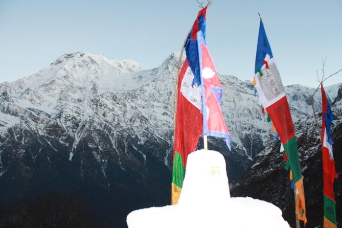 Annapurna Base Camp Helicopter Tour!!