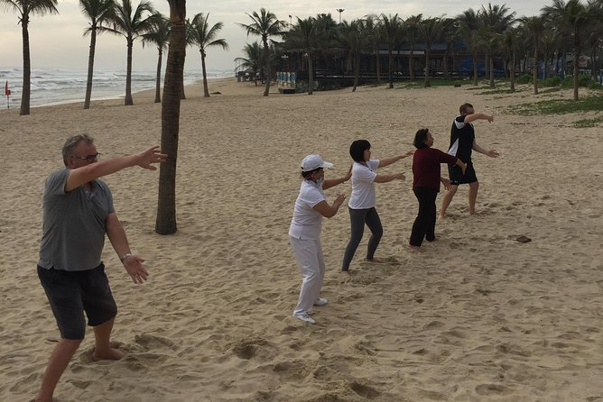 Chen Tai Chi, morning practice on the beach photo 1