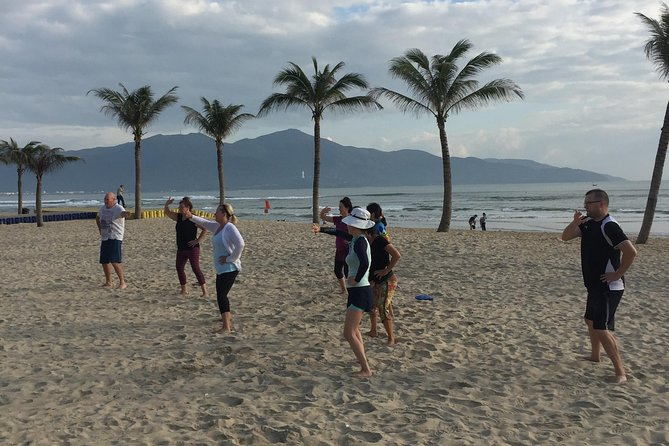 Chen Tai Chi, morning practice on the beach photo 2