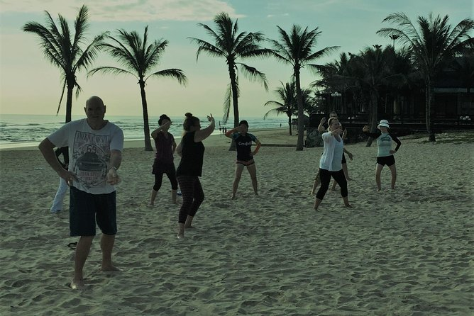 Chen Tai Chi, morning practice on the beach photo 4
