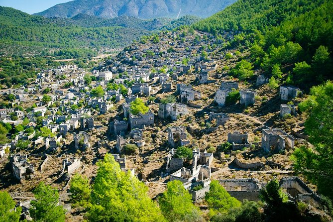 Kayakoy Ghost Town and Fethiye Bazaar