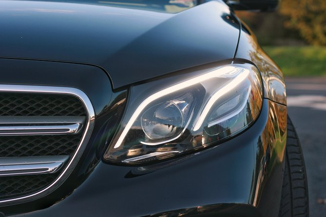 The latest Mercedes Benz E Class with sunroof