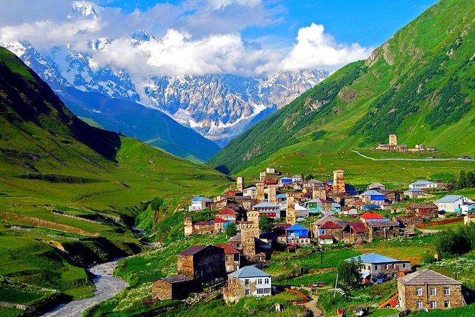 2day hiking tour to Svaneti, Mestia, Ushguli, Chaaladi Glacier offroad 4wd