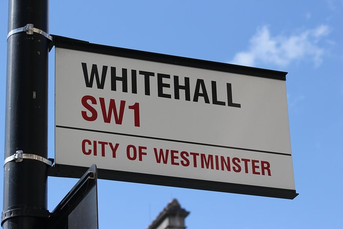 Private Sightseeing Walking Tour of Central London, Whitehall, & Westminster