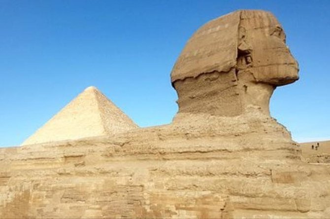 8 Hours Private trip to Giza pyramids Sakkara Memphis & shopping