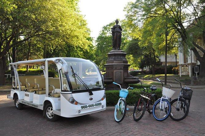 1 Hour Shuttle Tour and Bike Rentals in Jefferson, Texas