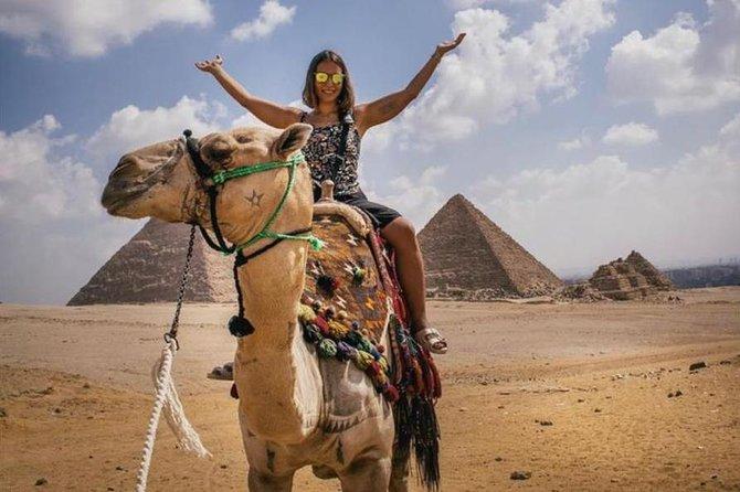 Private pyramids tour to Giza pyramids Dahshur Sakkara Memphis & Shopping