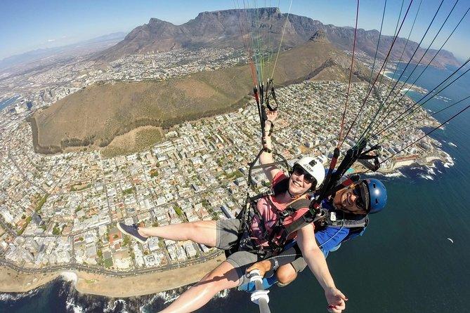 Paarl Rock Paragliding tandem flight with instructor