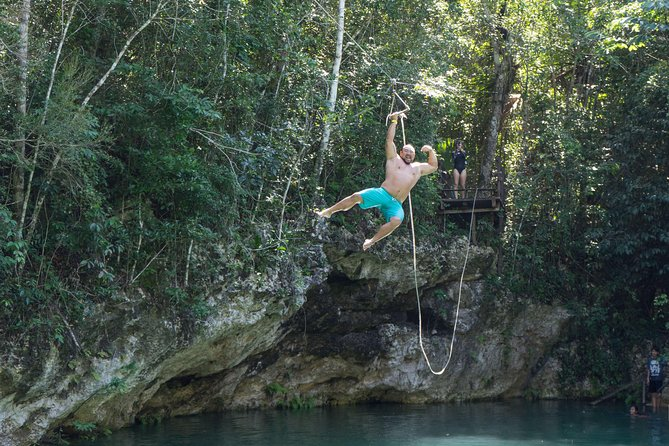 Puerto Morelos Snorkeling + 3 Cenotes + Zip-lines + Mayan Lunch - Free Pictures photo 2