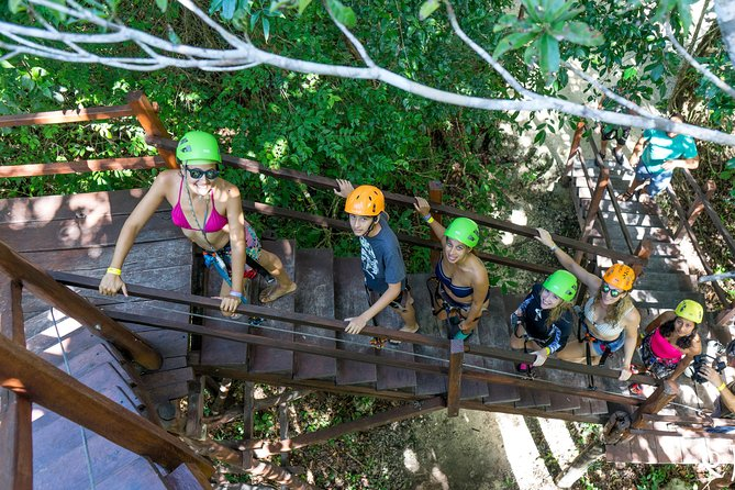 Puerto Morelos Snorkeling + 3 Cenotes + Zip-lines + Mayan Lunch - Free Pictures photo 9