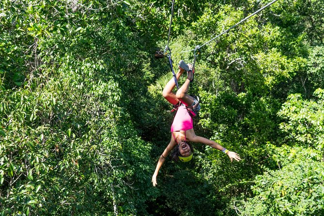 Puerto Morelos Snorkeling + 3 Cenotes + Zip-lines + Mayan Lunch - Free Pictures photo 8