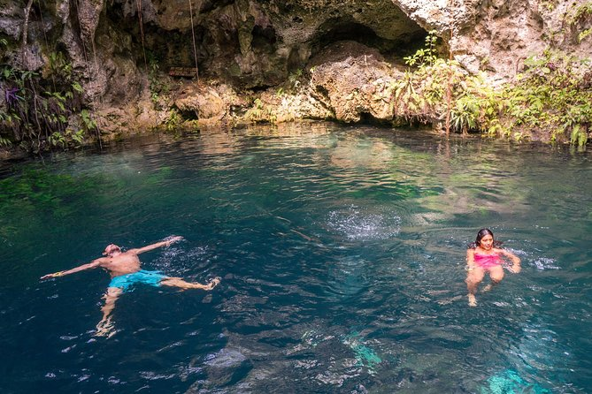 Puerto Morelos Snorkeling + 3 Cenotes + Zip-lines + Mayan Lunch - Free Pictures photo 13
